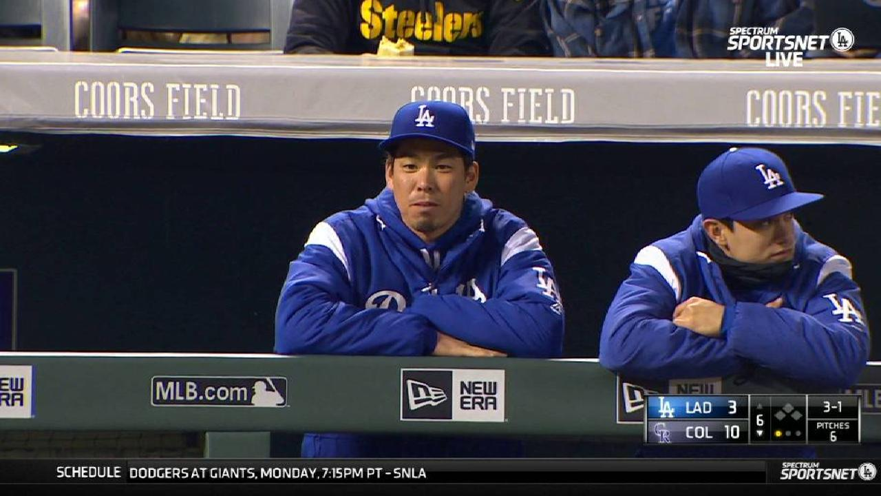 Maeda lands on the DL with a tight hamstring