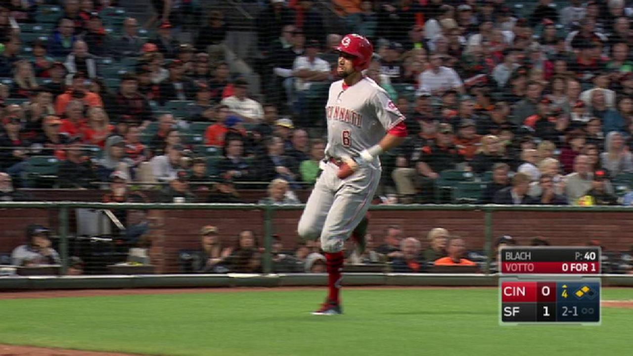 Votto's RBI groundout