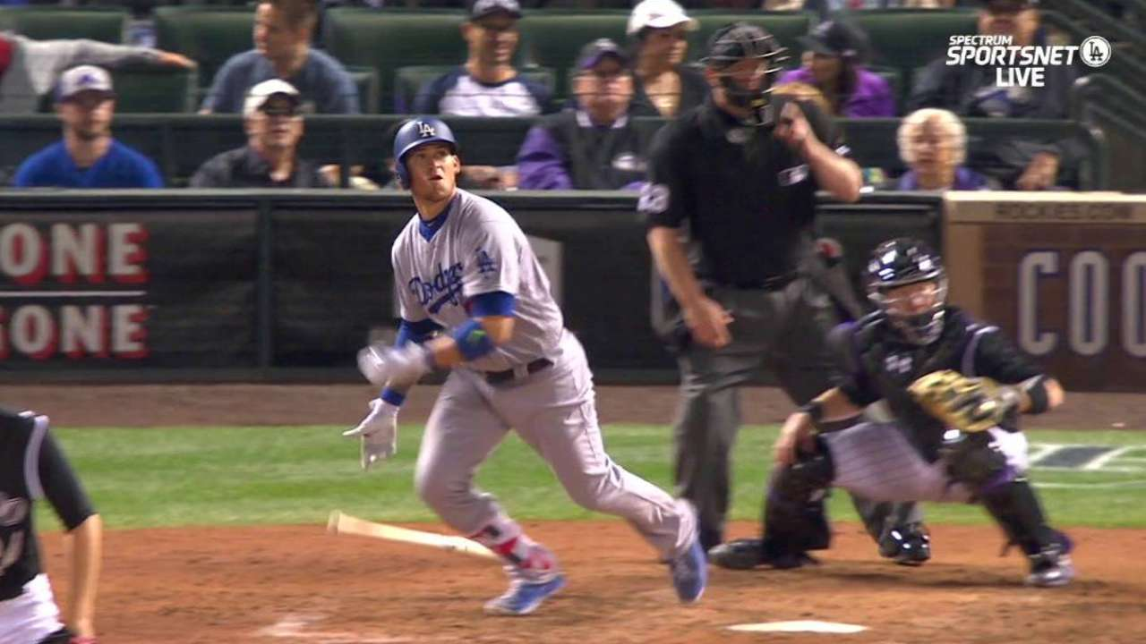 Dodgers buoyed by late rally against Rox