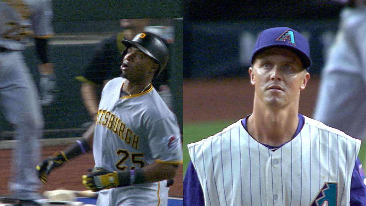 After long foul, Polanco ends Greinke's no-no