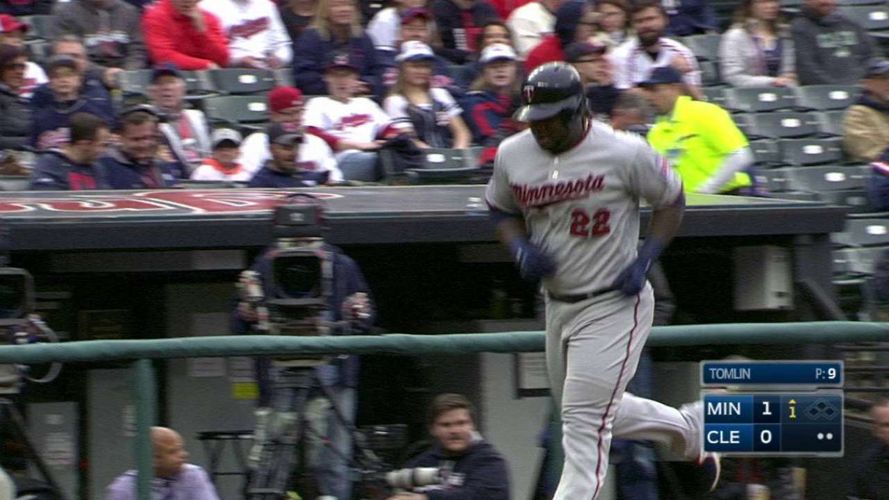 Sano's 10th home run of the year