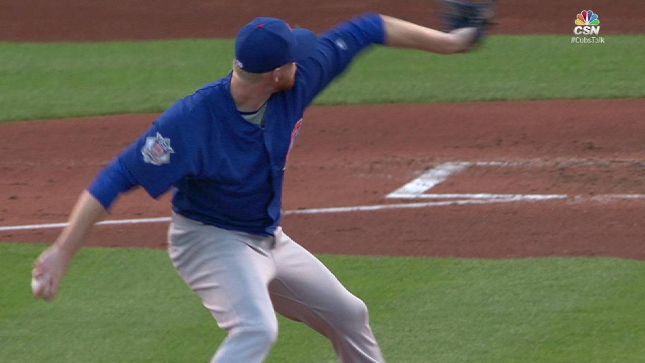 Butler nets first K on the Cubs