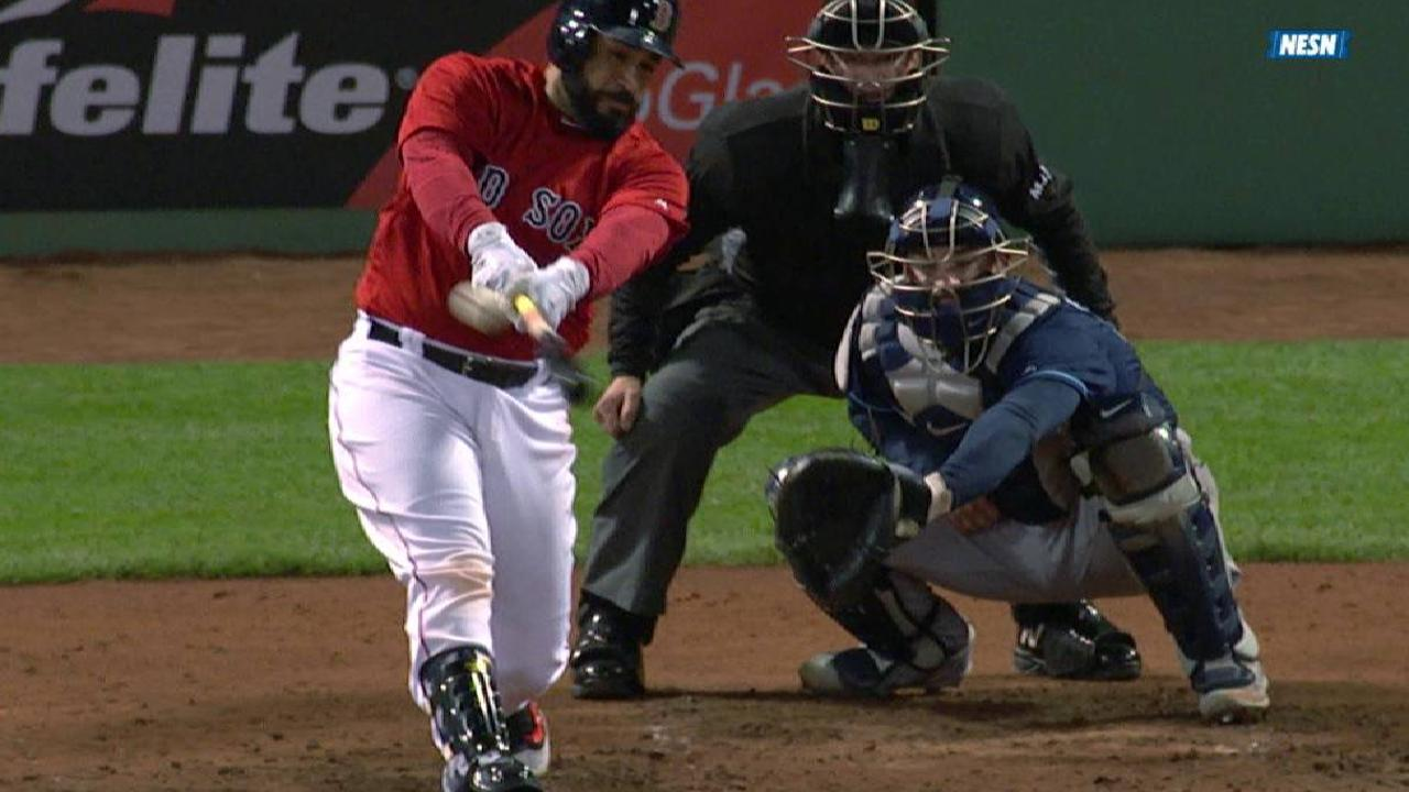 Red Sox's rally comes up just short vs. Rays