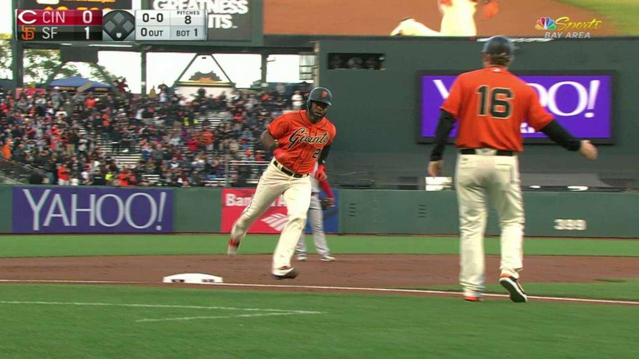 Span's solo home run