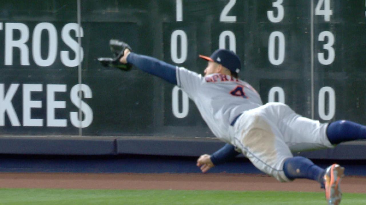 Must C: Springer's amazing catch