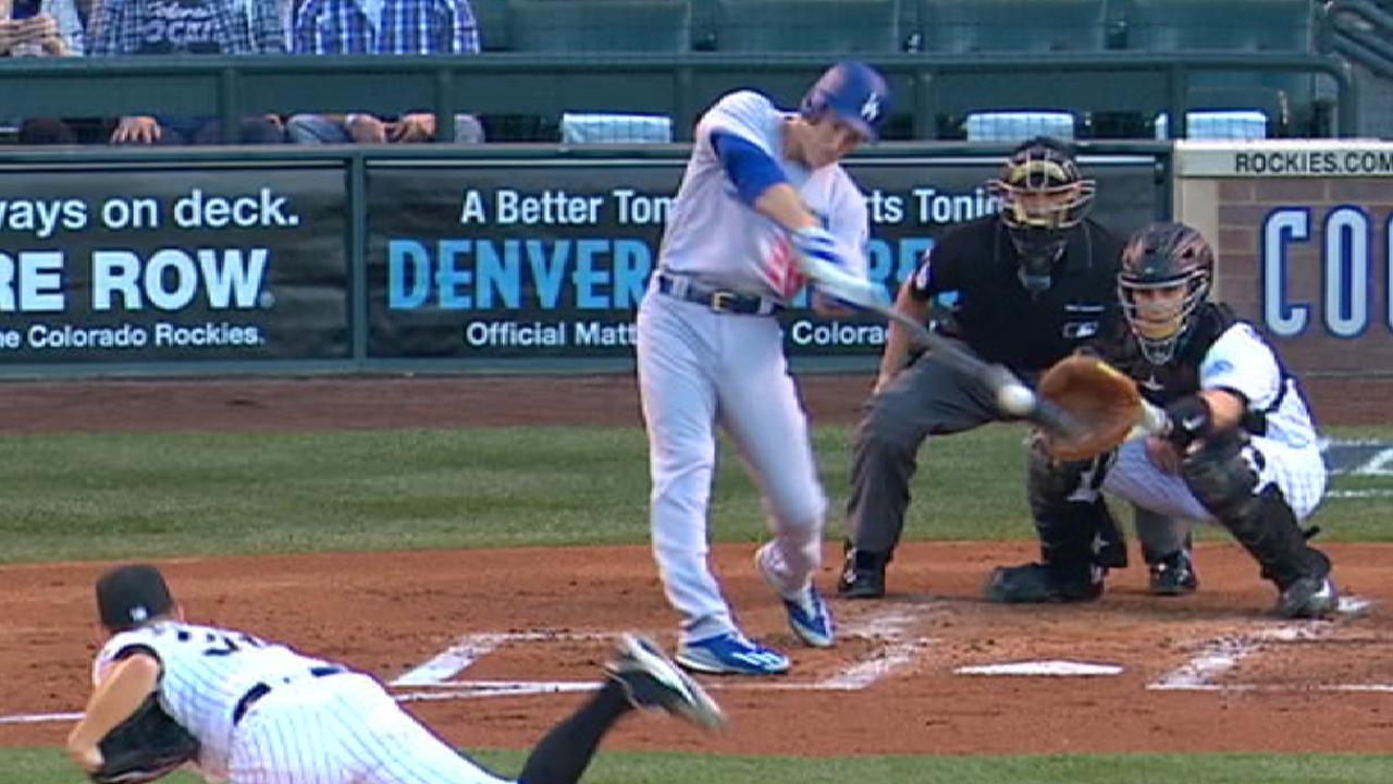 Big inning sends Dodgers on way over Rox