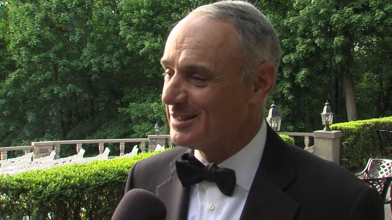 Manfred on Jeter ceremony