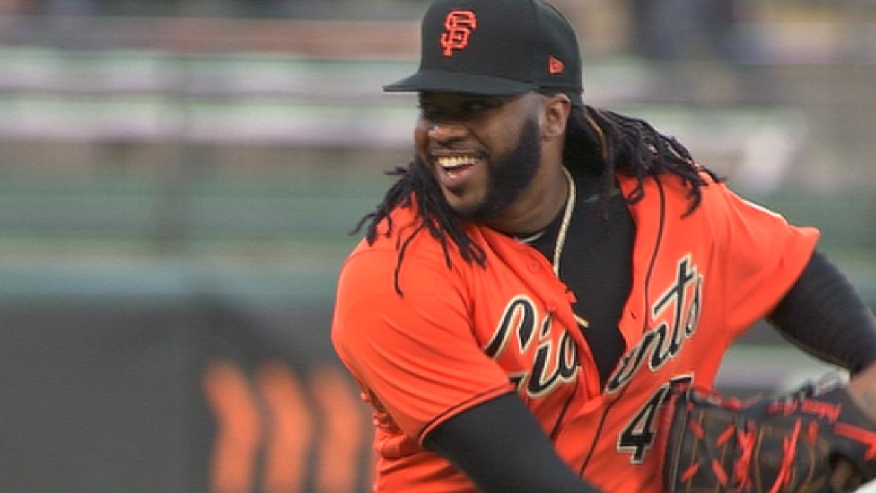 Cueto goes eight strong innings