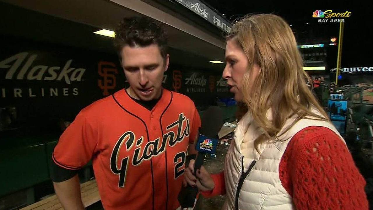 Posey on importance of the win