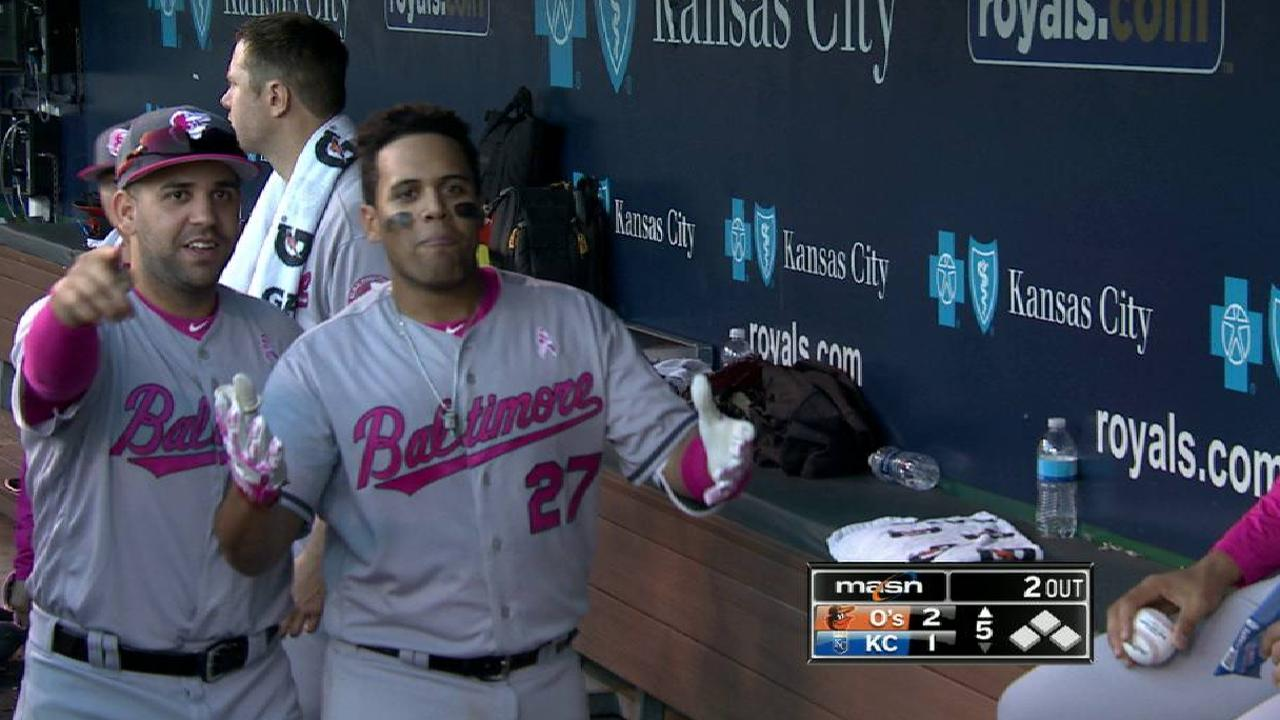 Pena's second homer of the game