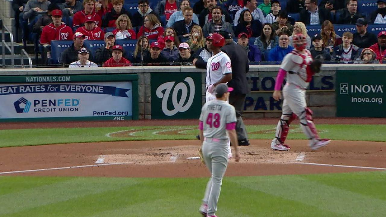 Phillies miffed by another close loss to Nats