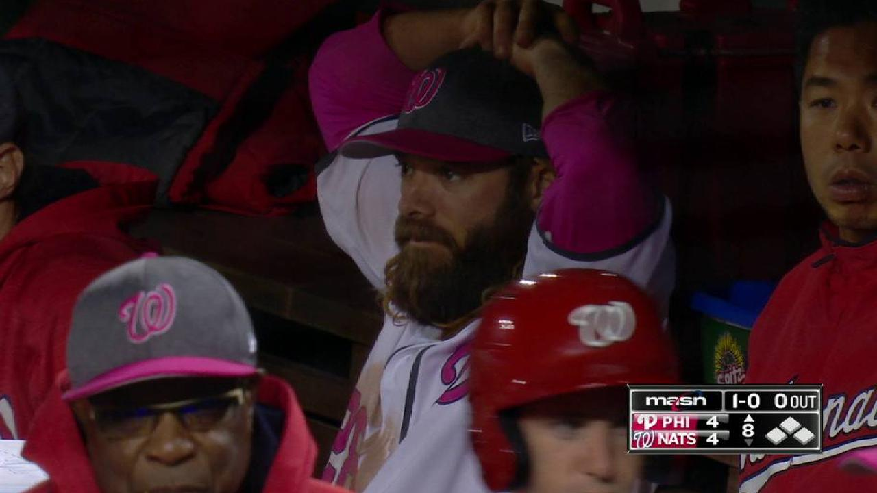 Werth exits as precaution with tight groin