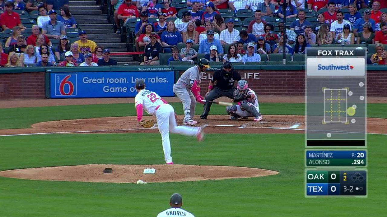 Martinez K's Alonso looking