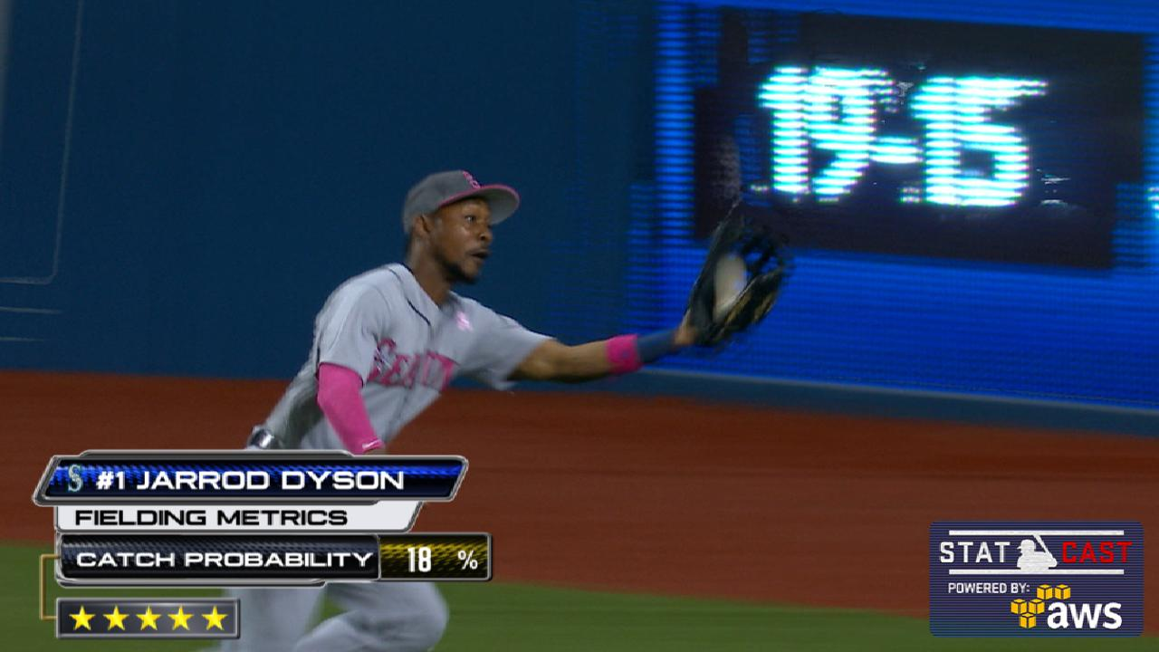 Statcast of the Day: Dyson flashes speed