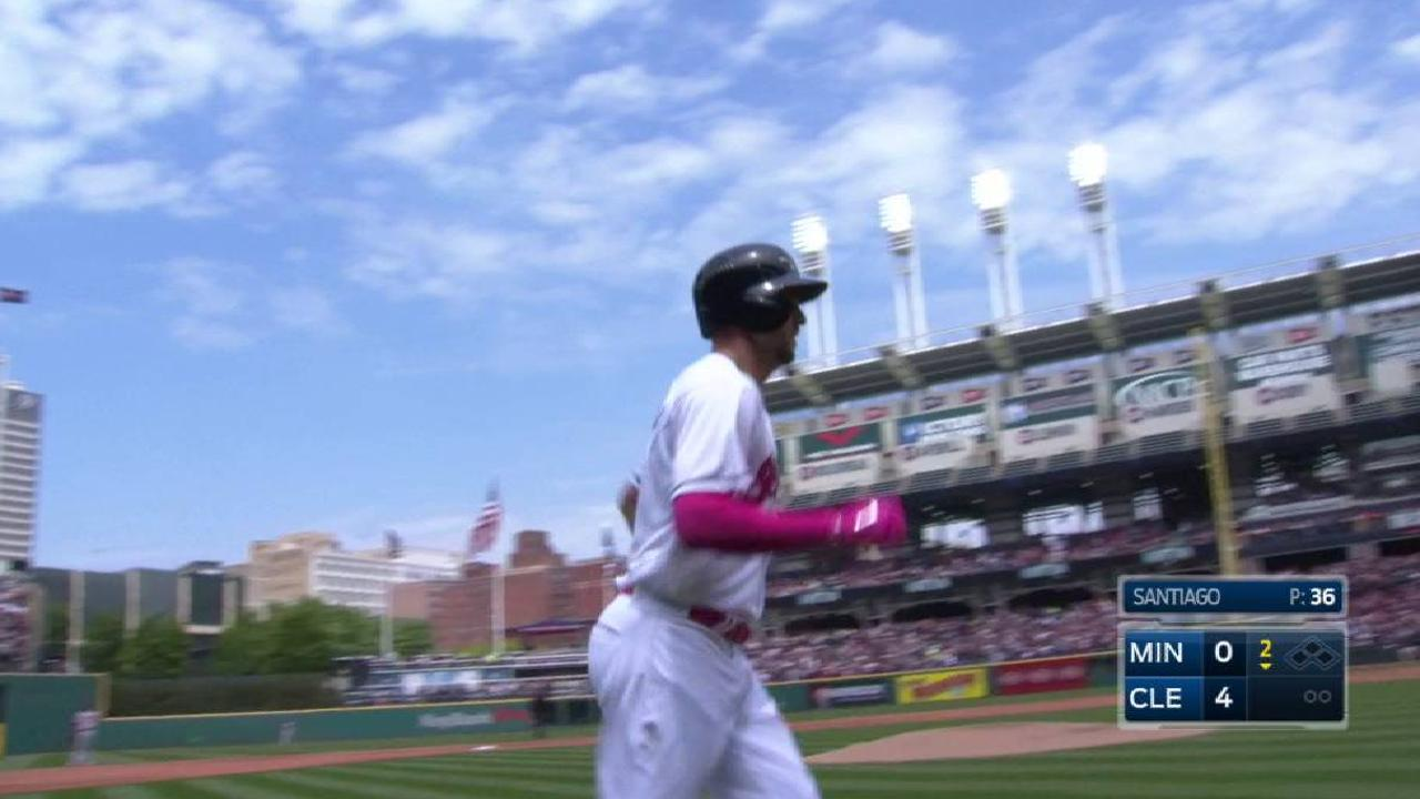 Chisenhall's two-run homer