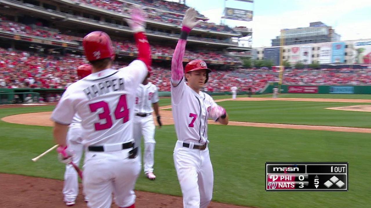 Turner's two-run homer