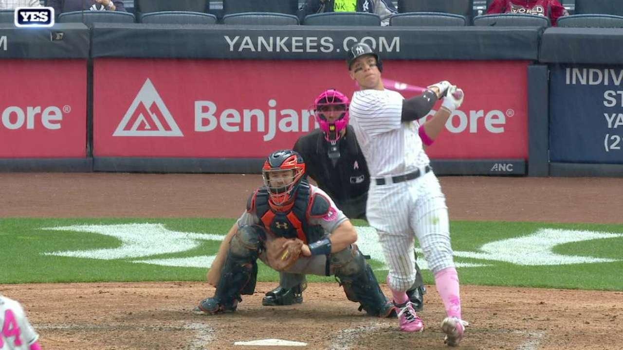 Judge belts his 14th home run