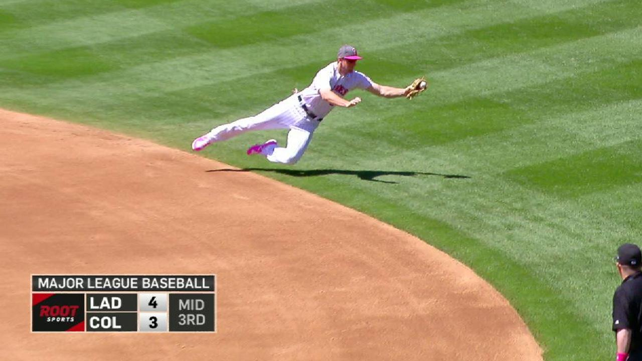 LeMahieu's smooth snag