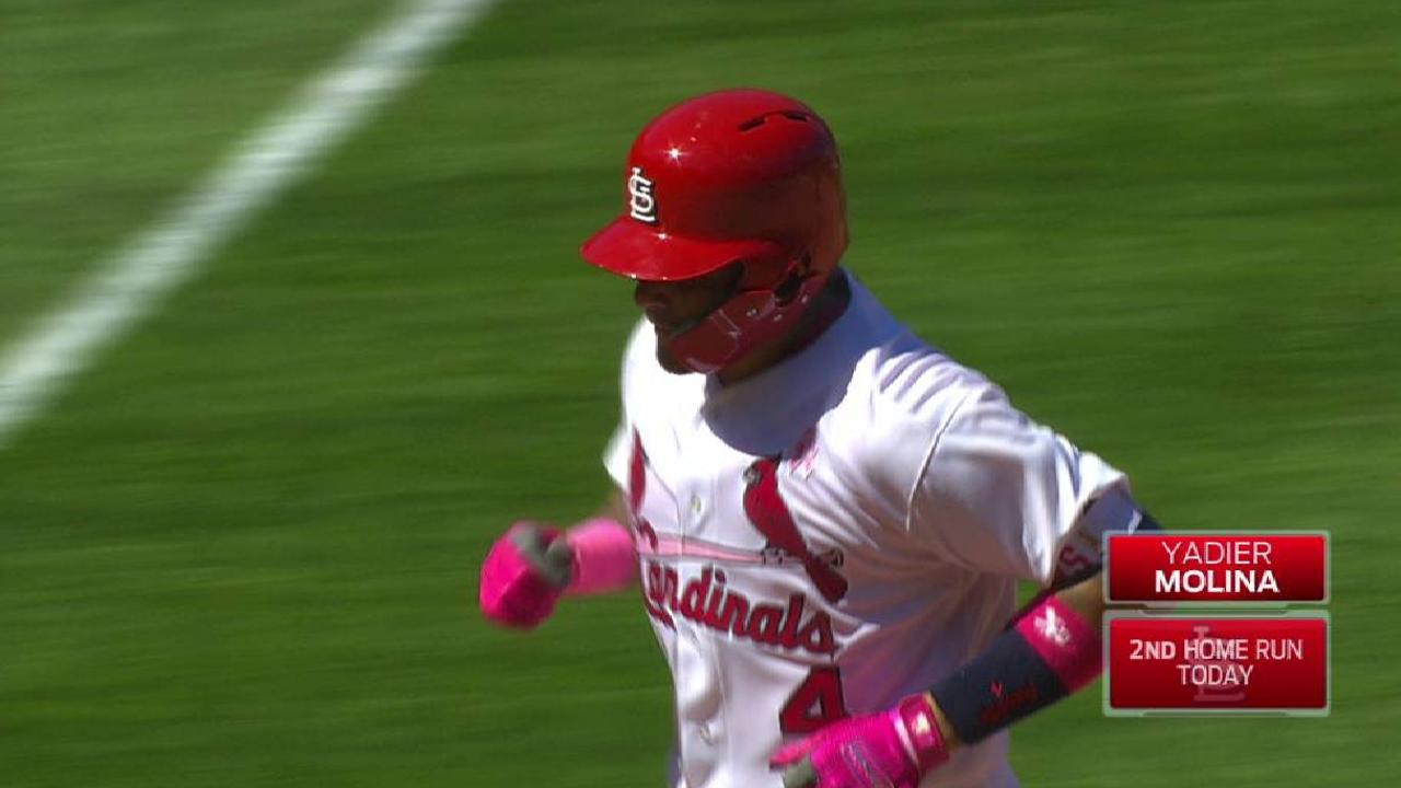 Molina's second home run