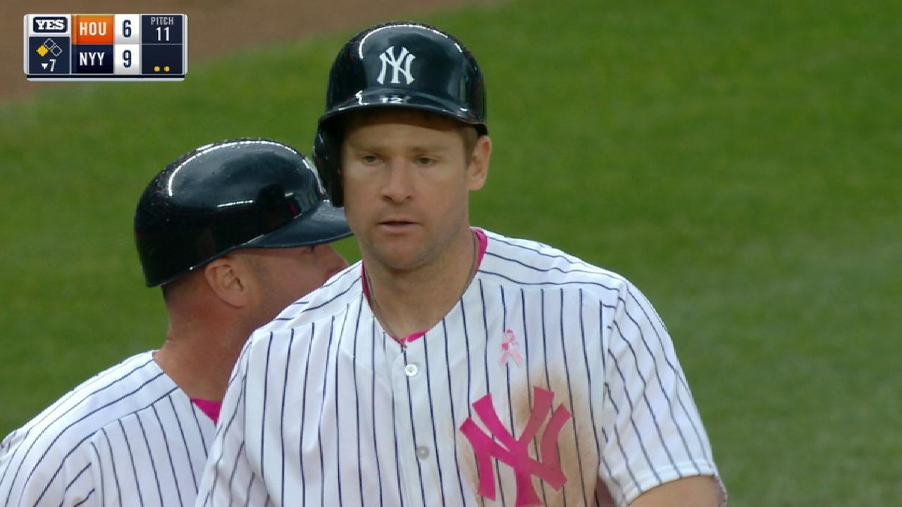 Headley corona la remontada de Yankees sobre Astros