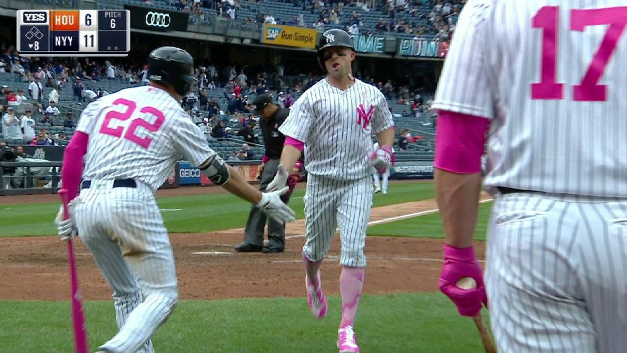Gardner finding stroke at right time for Yanks