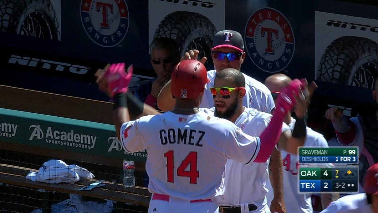 Gomez (hamstring strain) out 4-6 weeks