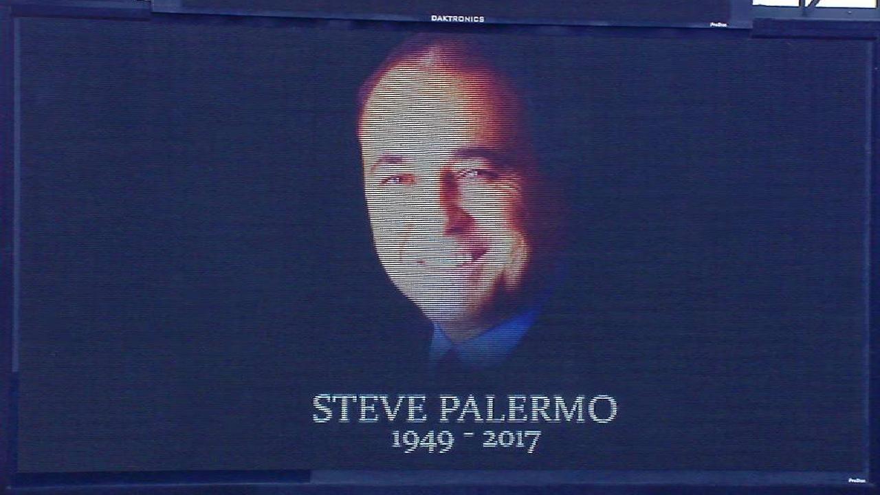 Rockies honor Steve Palermo