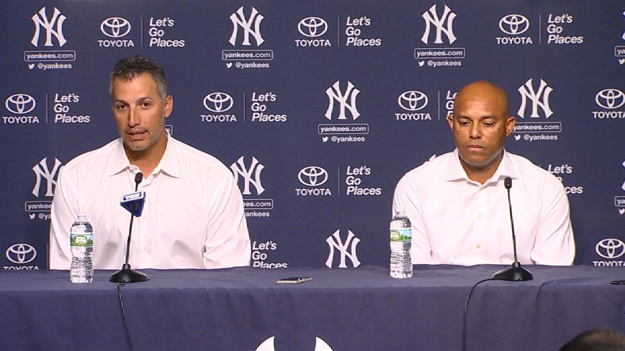 Former teammates on Jeter