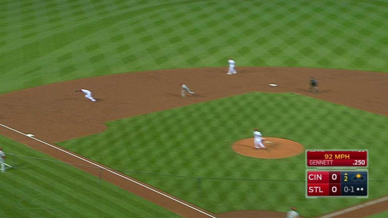 Cardinals activate Peralta, option OF Sierra