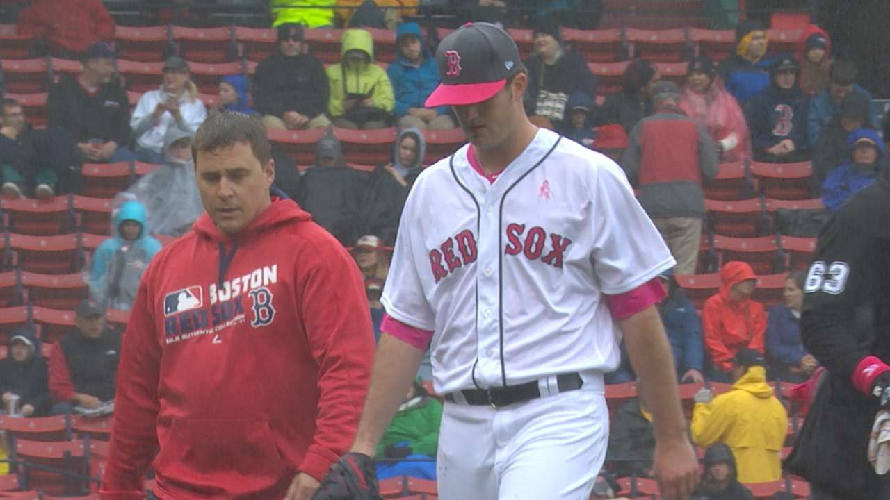 Pomeranz doesn't expect to miss next start