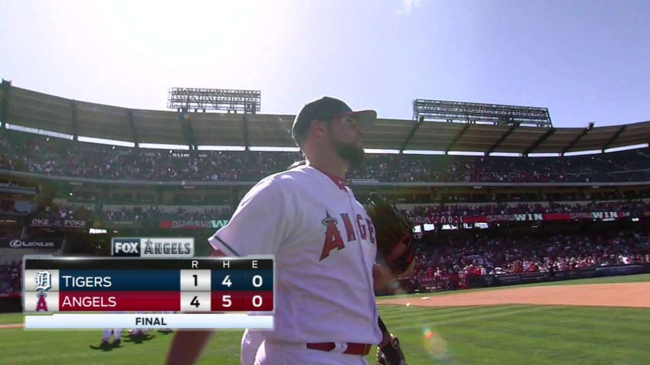 Norris earns the save
