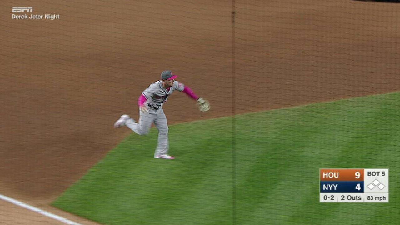 Astros seeking consistency at corners
