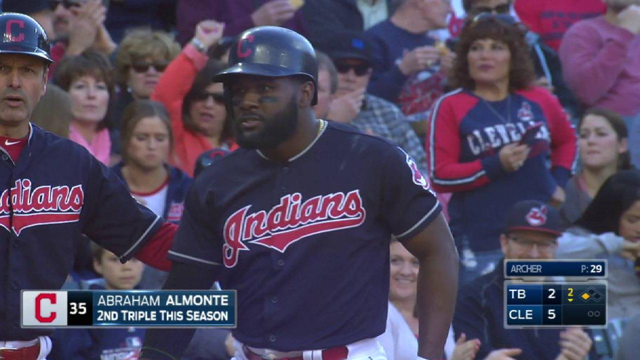 Almonte to miss 3-5 weeks with biceps sprain