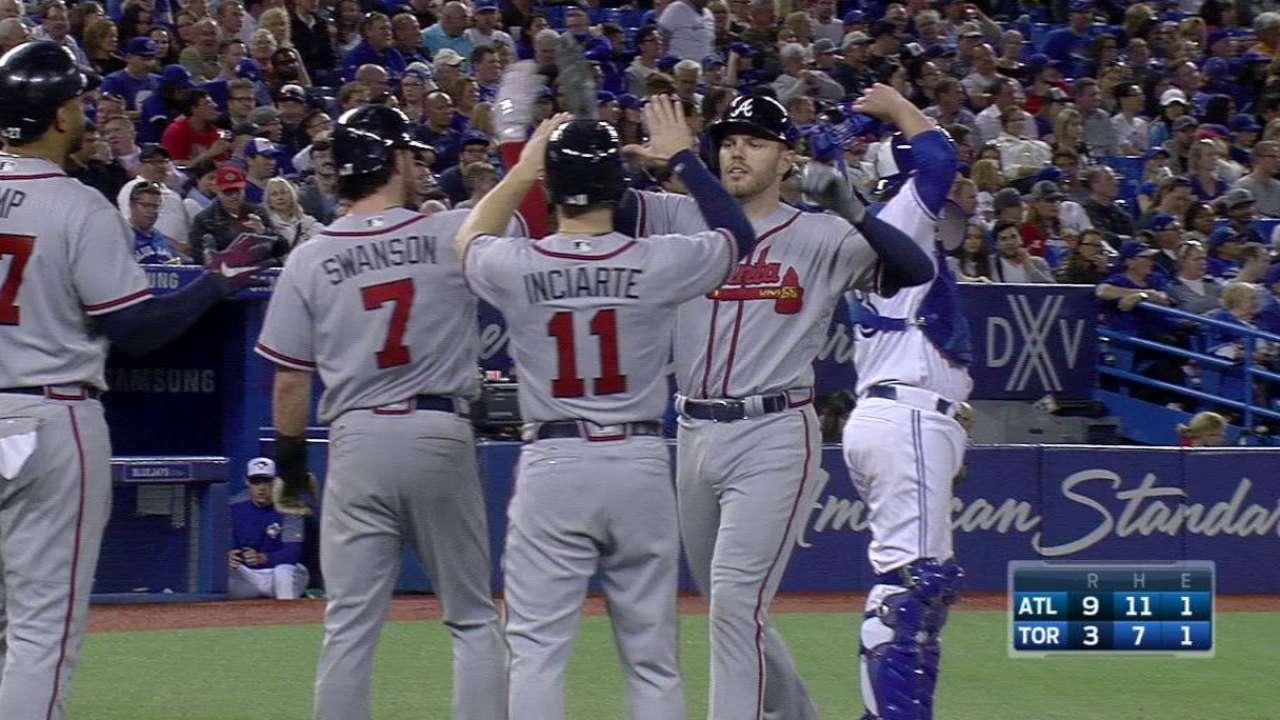 Freeman, Kemp lead Braves past Blue Jays