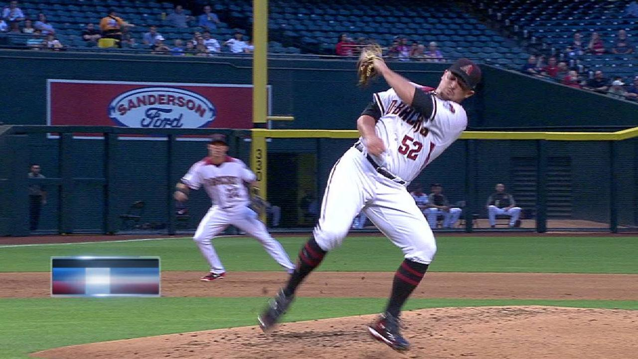 Godley flashes the leather