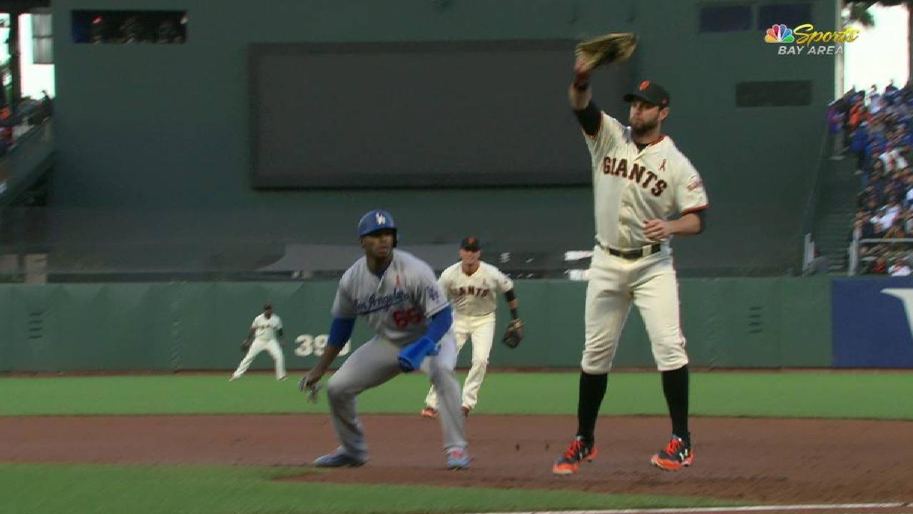 Belt's unassisted double play