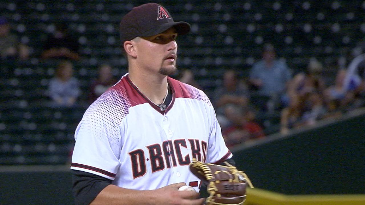Godley earning role in D-backs' rotation