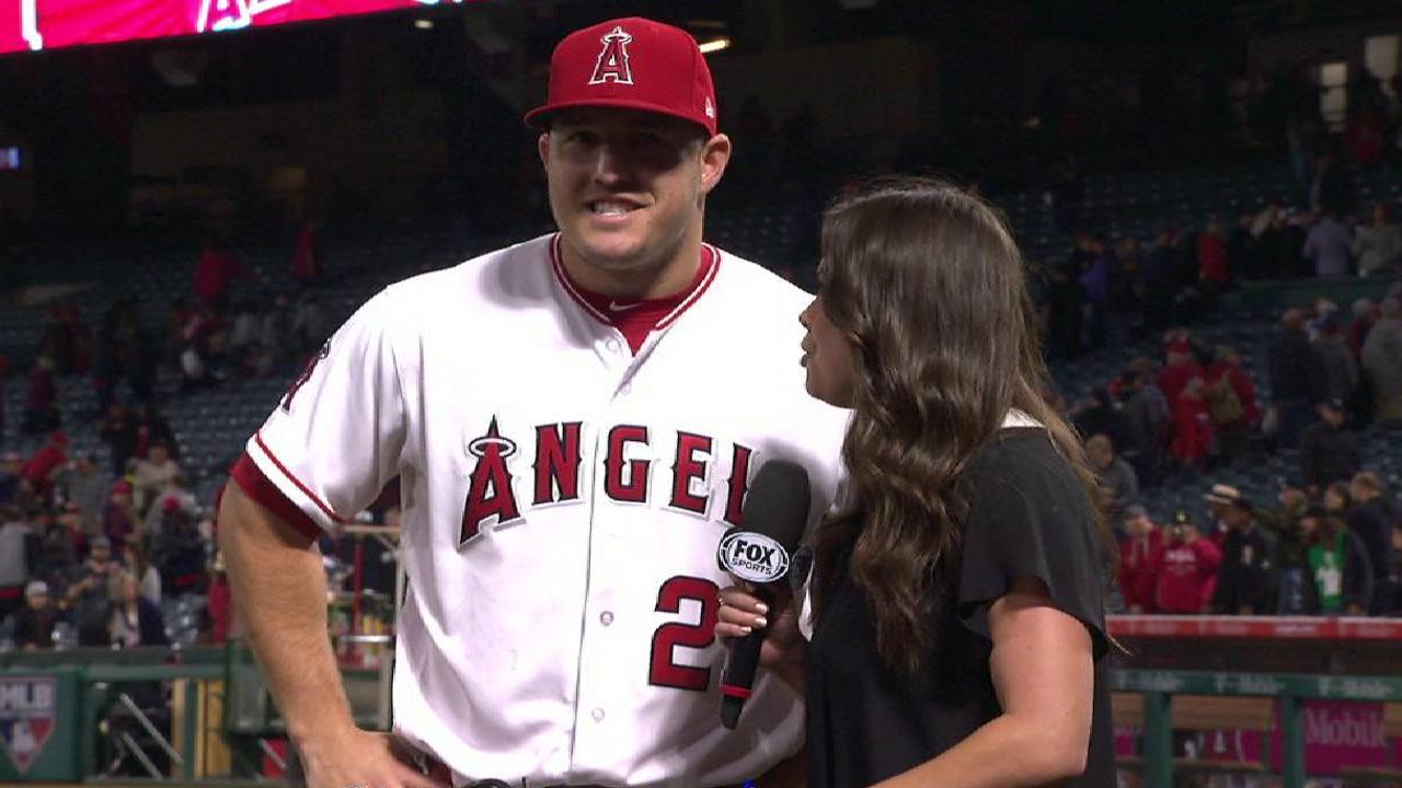Trout on Angels' comeback win