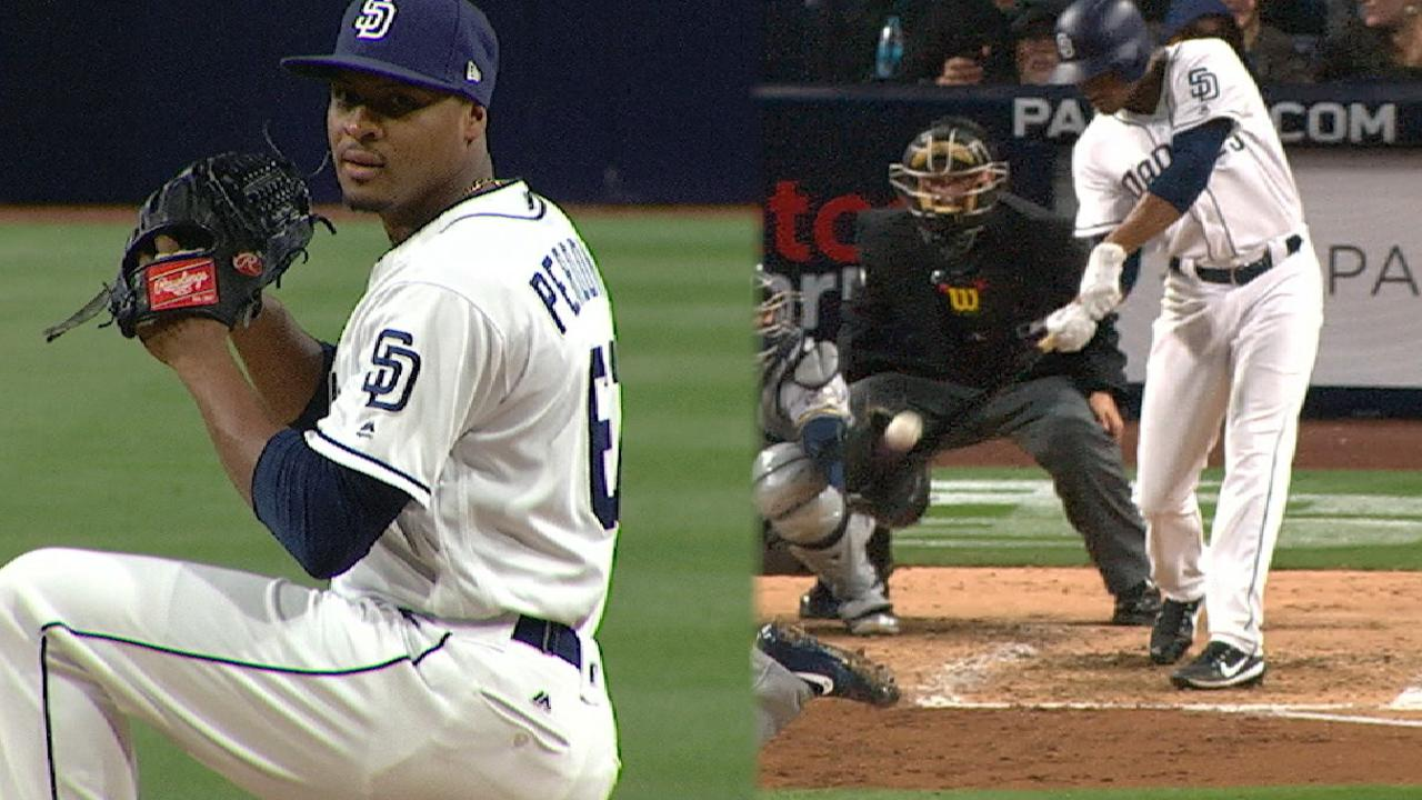 Perdomo's great all-around game