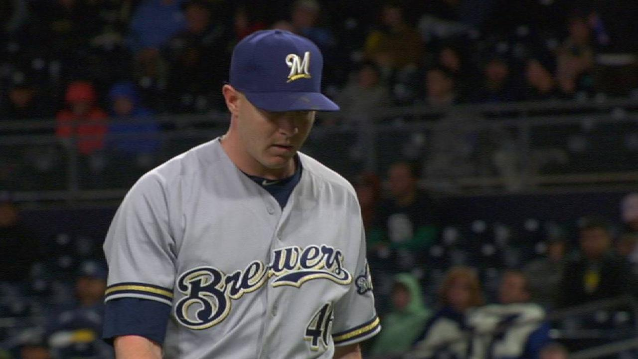 Knebel's clutch strikeout