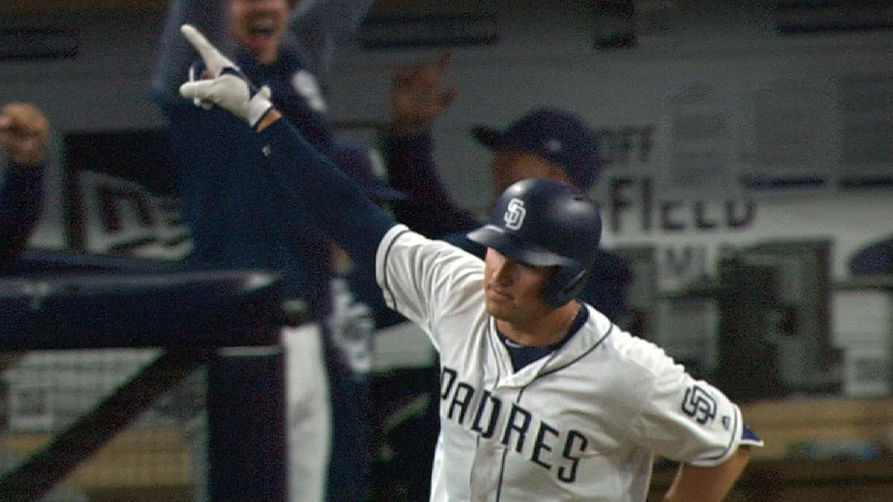 Renfroe walks off, plates four