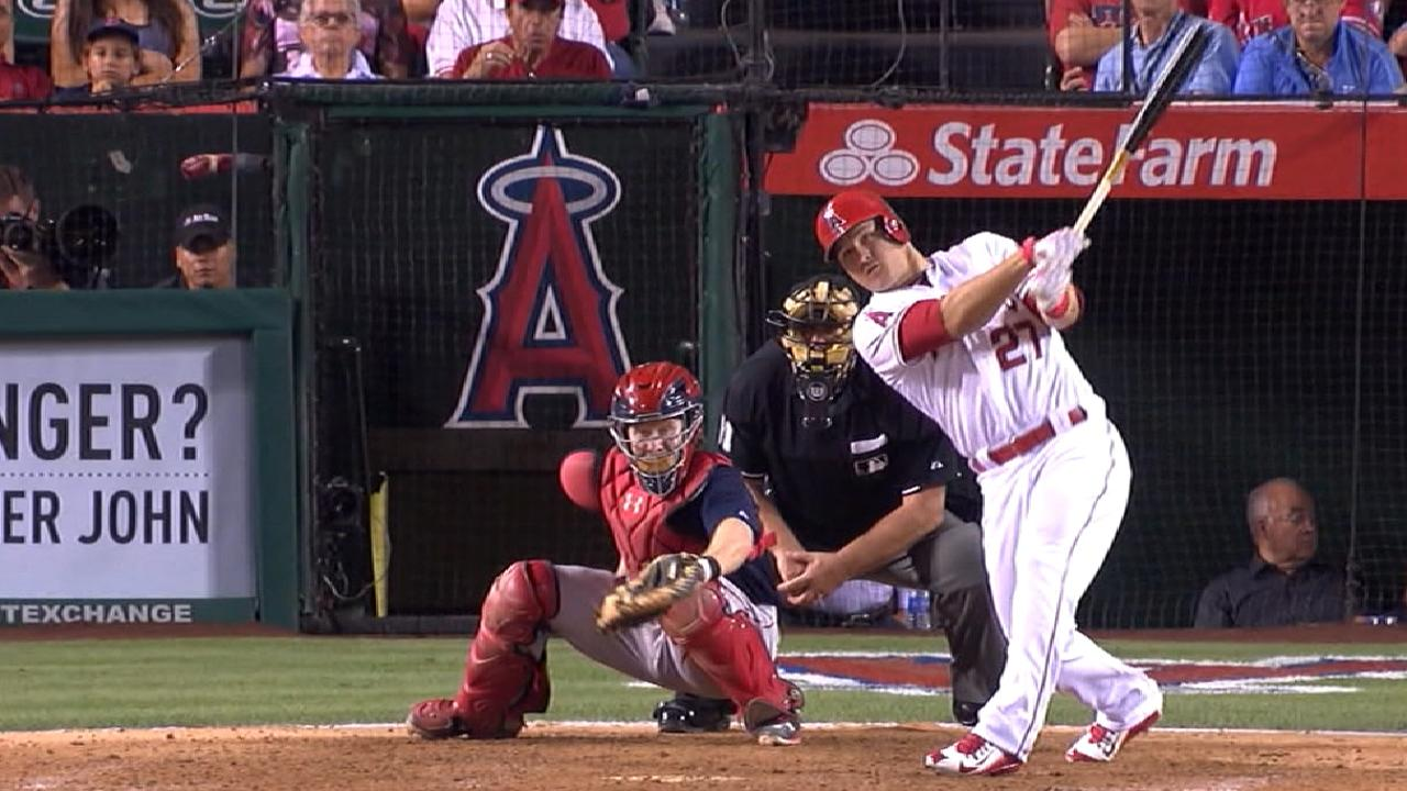 Trout building case as an all-timer