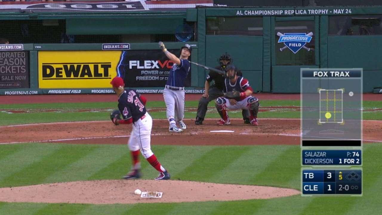 Dickerson's second home run