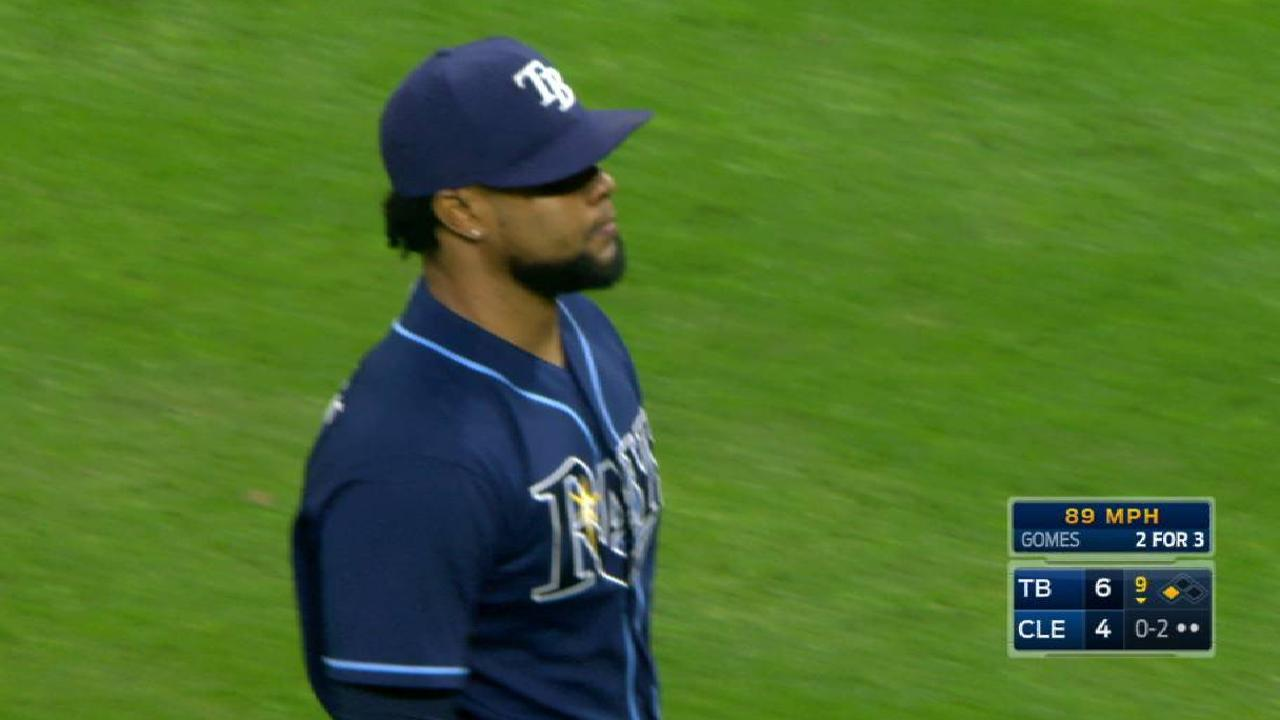 Colome K's Gomes to earn save
