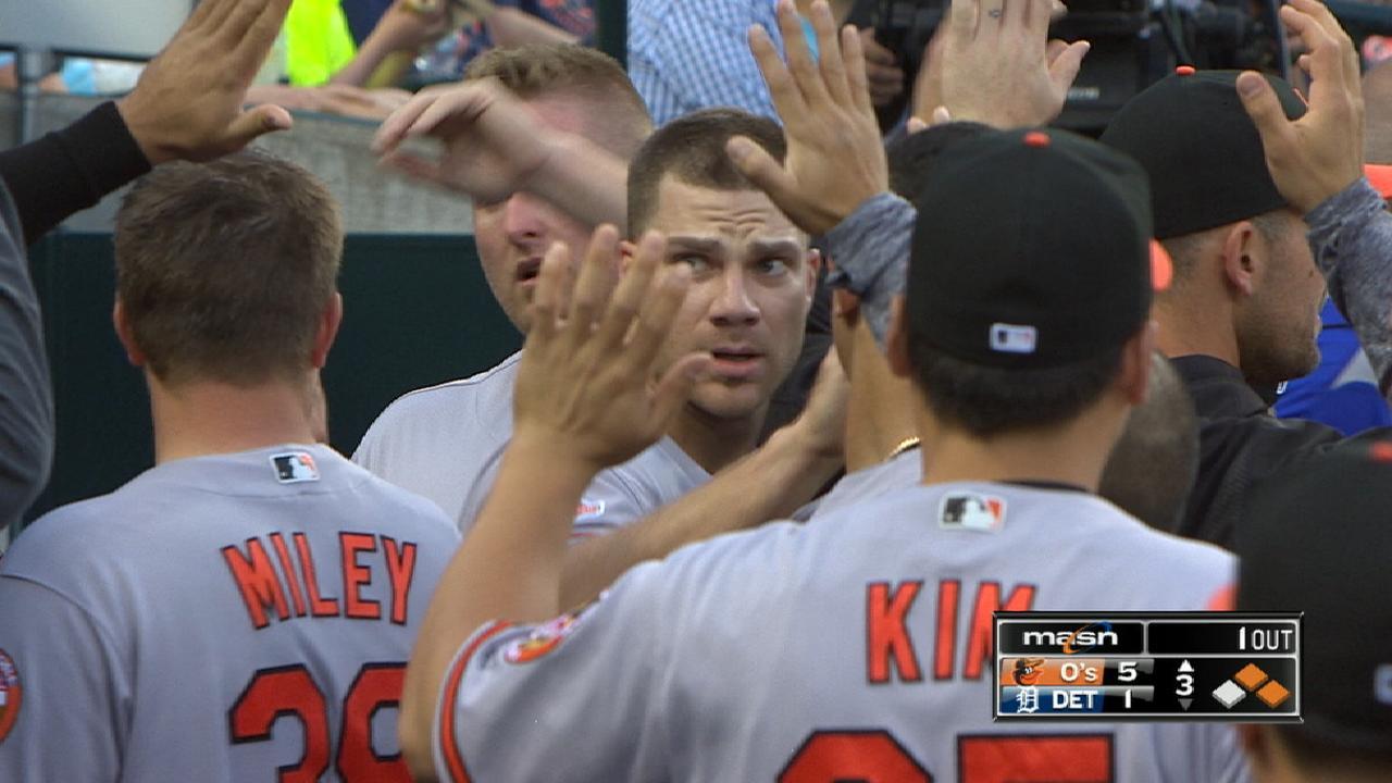 O's seven-run 3rd inning
