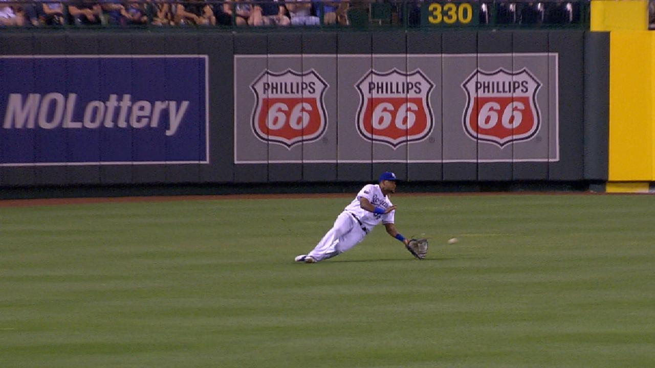 Bonifacio's slick catch