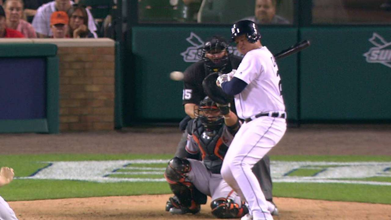 Miggy takes first on HBP