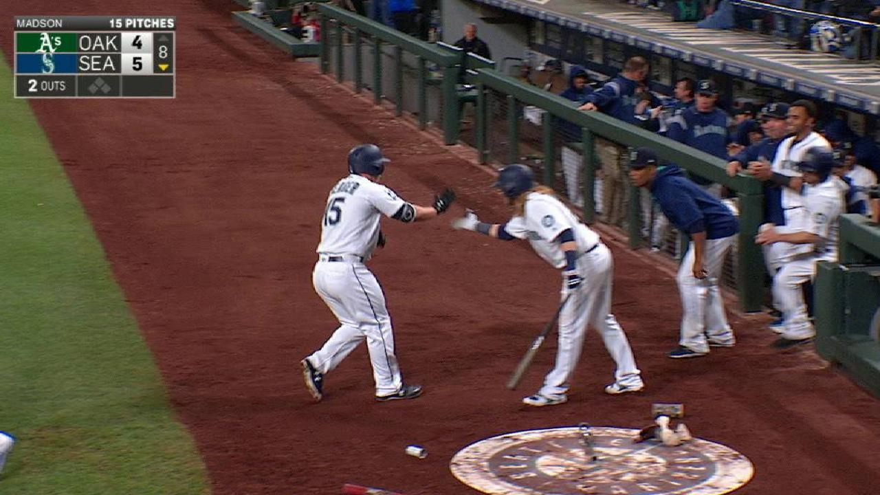 Mariners' Seager heating up after another HR