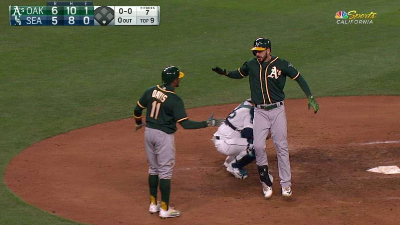Joyce's go-ahead two-run homer