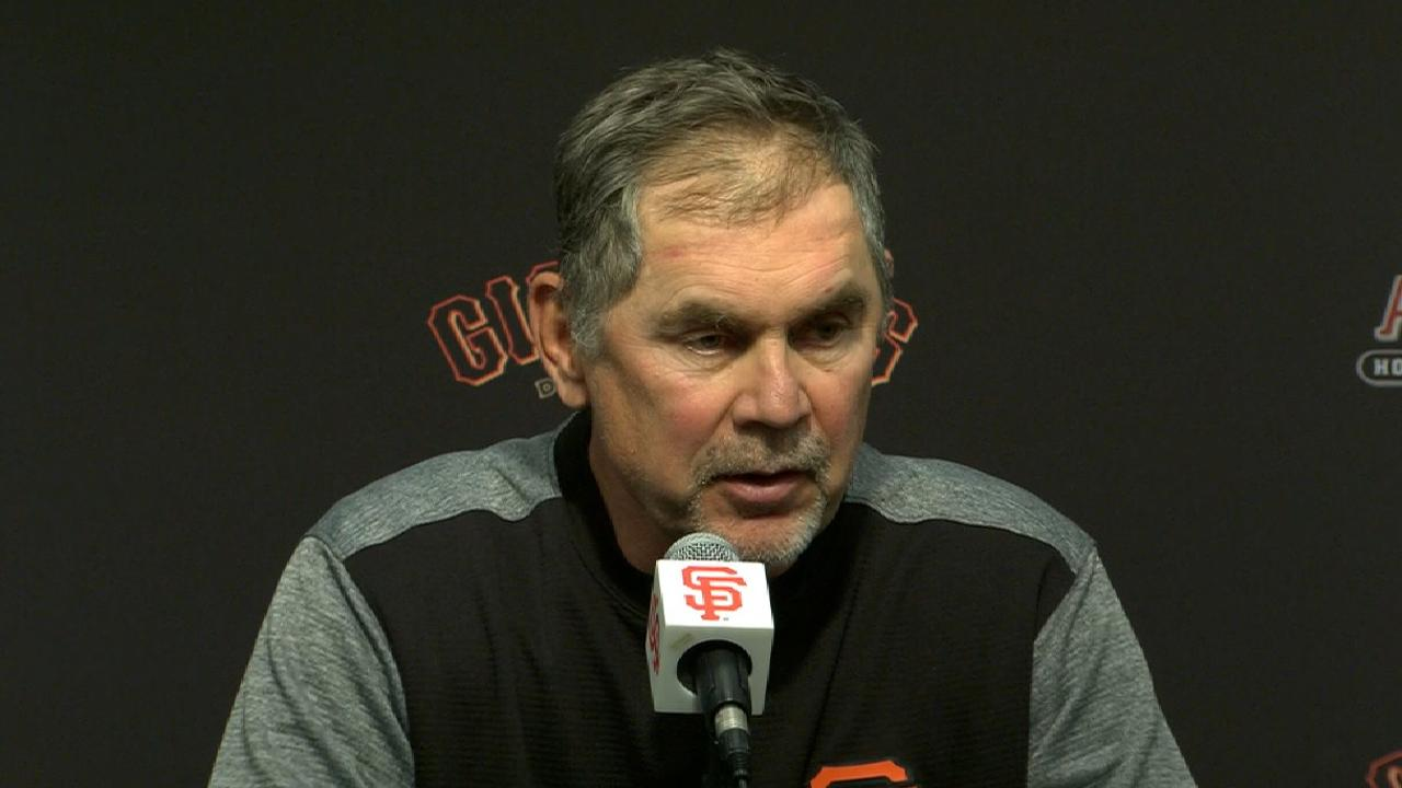 Bochy on win over Dodgers